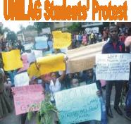 unilag student protest.