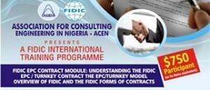 FIDIC INTERNATIONAL TRAINING