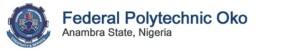 federal polytechnic oko logo