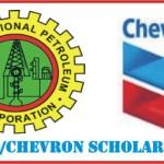 Apply Now for Chevron/NNPC JV 2016 Scholarship Awards