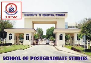 UEW School of Postgraduate Studies