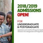 UENR 2018/2019 Postgraduate Admissions Form
