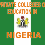 List of Private Colleges of Education in Nigeria with Websites