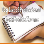 Top Lists of Professional Certification Exams